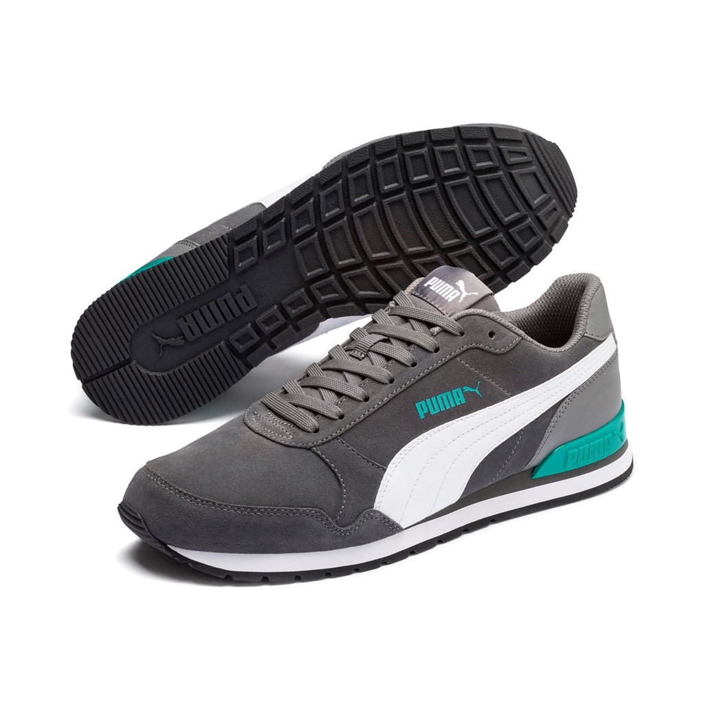 Details about Puma st Runner v2 SD Trainers Shoes 365279 Unisex Grey