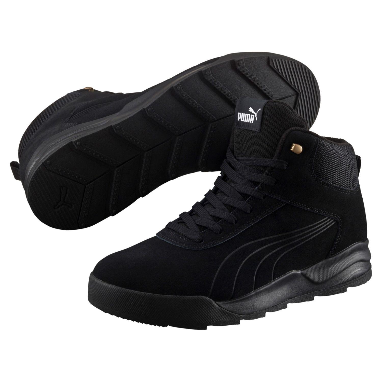 Detalles de Puma dirimir nieve botas altas cortos outdoor 361220 negro ver título original