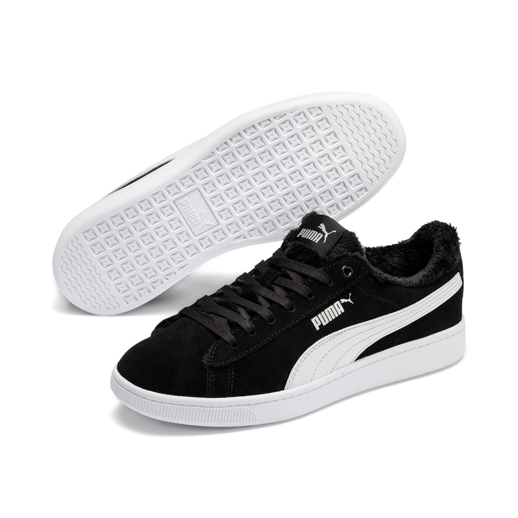 Details about Puma Vikky v2 fur Wns Ladies Sneaker Shoes 369981 Padded Black