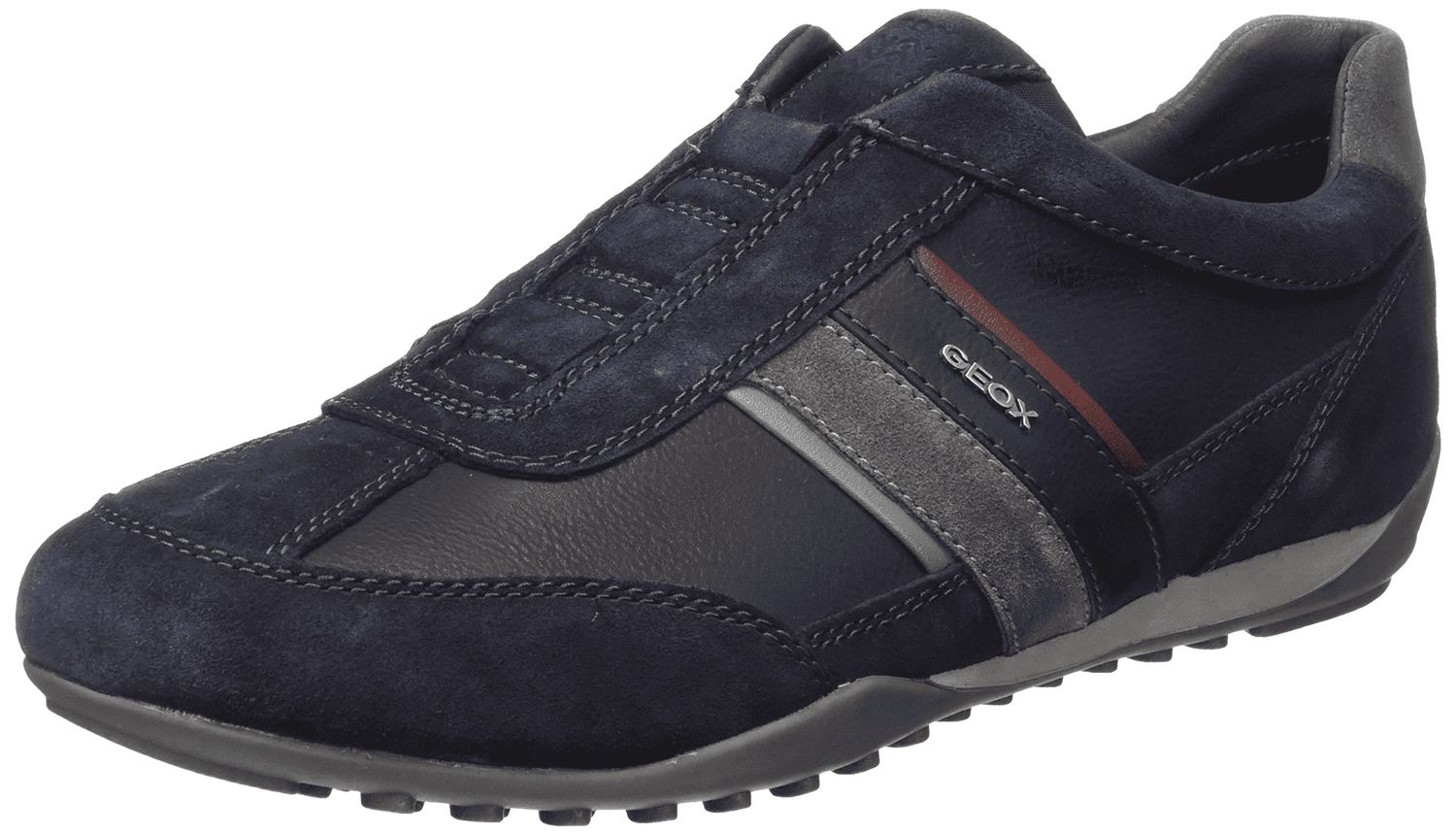 100% kvalitet billigt pris på fötter kl Geox Respira Men's u Wells a Low Top Trainers Slipper Shoes U82T5A ...
