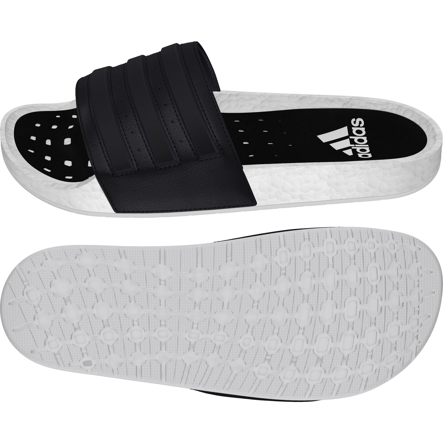 Civilizar Caucho Sumergir  Adidas Adilette Boost Mules Slides EG1910 Shower Slippers with ...