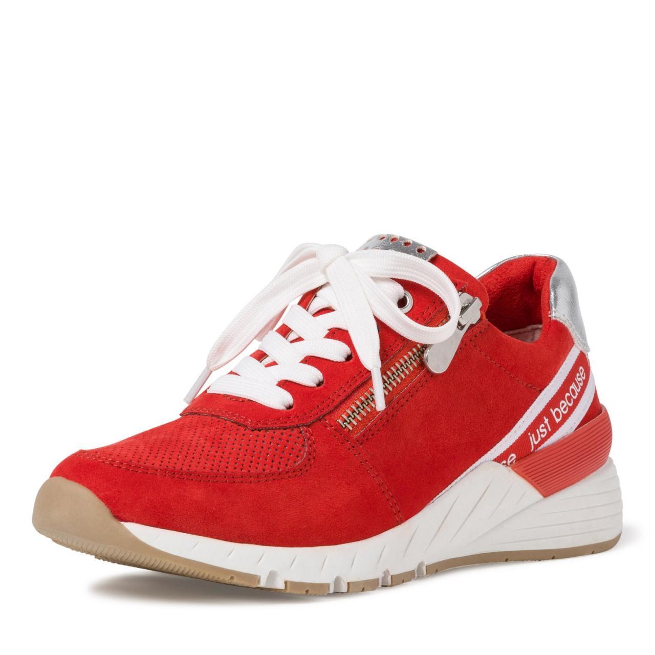Details zu MARCO TOZZI Premio Fashion Sneaker Schuhe Low Top 2 23739 34 Burn Orange Core