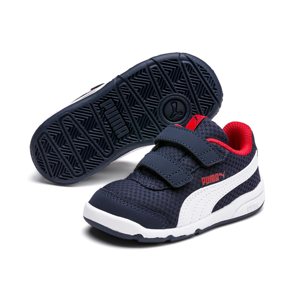Details about Puma Stepfleex 2 Mesh Ve V Inf Children Baby Shoes Trainers  192525 Peacoat Blue