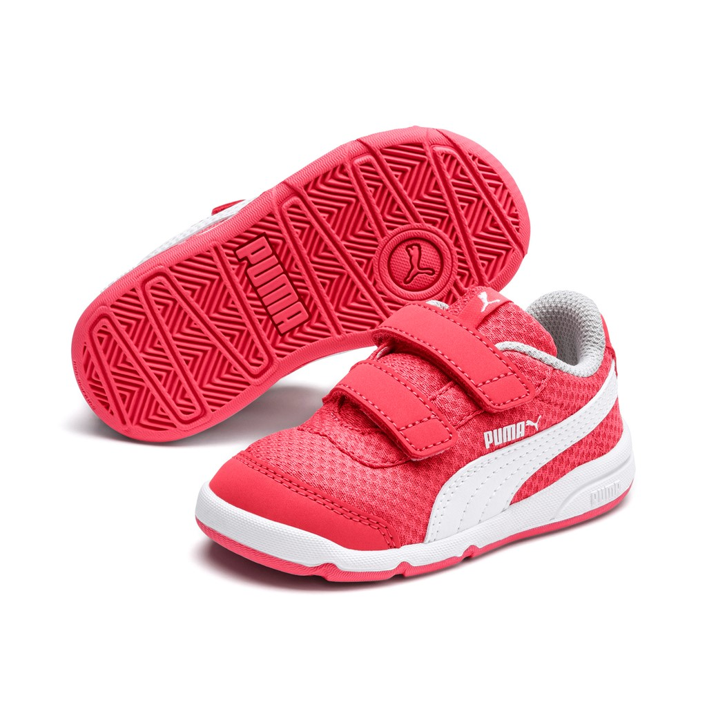 Details about Puma Stepfleex 2 Mesh Ve V Inf Children Baby Shoes Trainers  192525 Calypso Coral