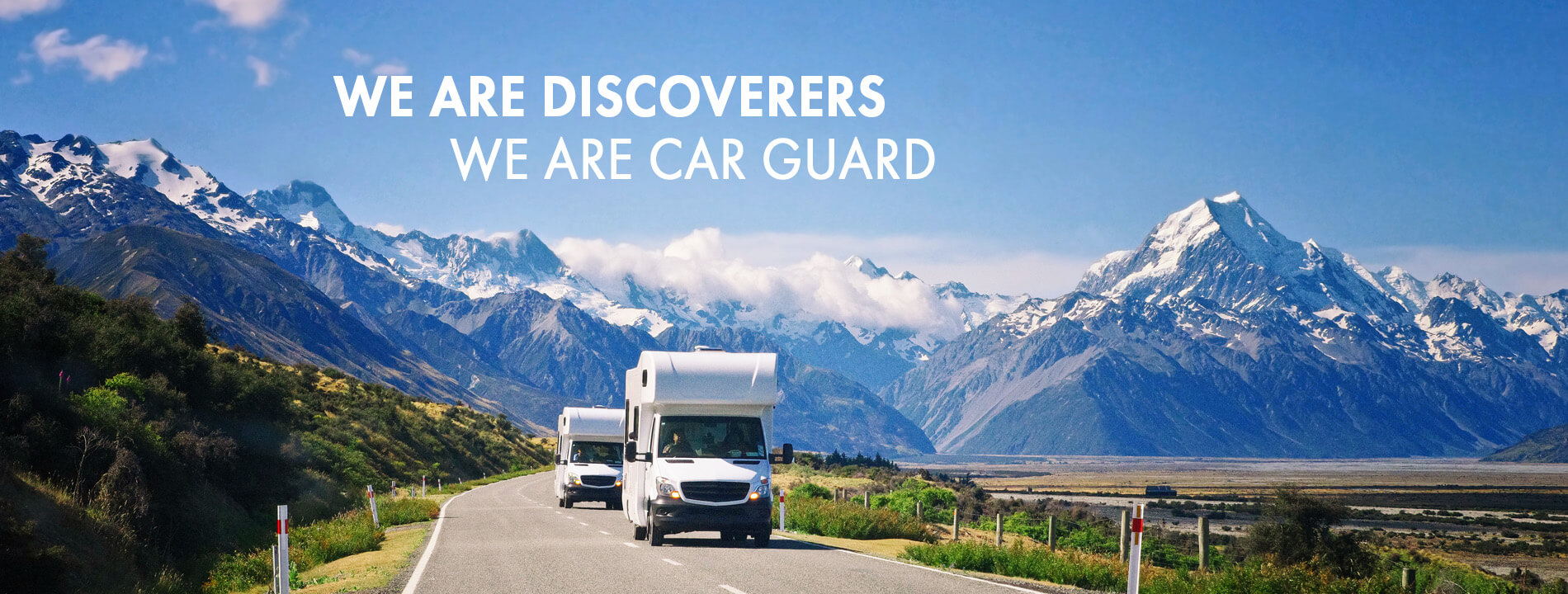 We are discoverers - We are Car Guard