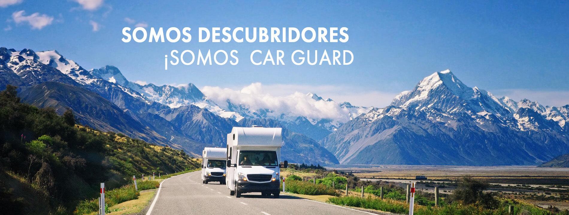 Somos descubridores - Somos Car Guard
