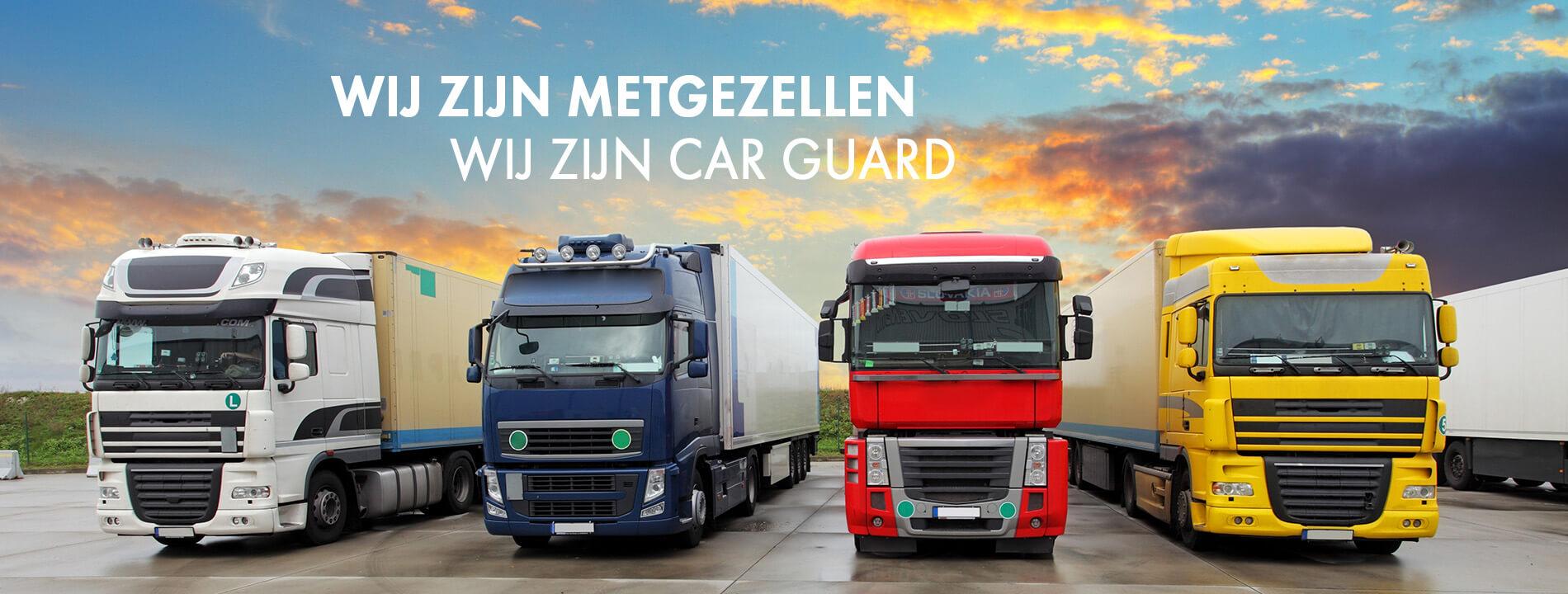 Wij zijn metgezellen - Wij zijn Car Guard