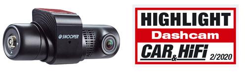 Snooper DVR-Pro - Highlight Dashcam in Car & Hifi Ausgabe 2/2020