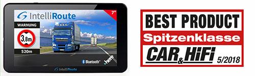 >Lkw-Navigation IntelliRoute TR8050 DVR - Truckers bester Freund