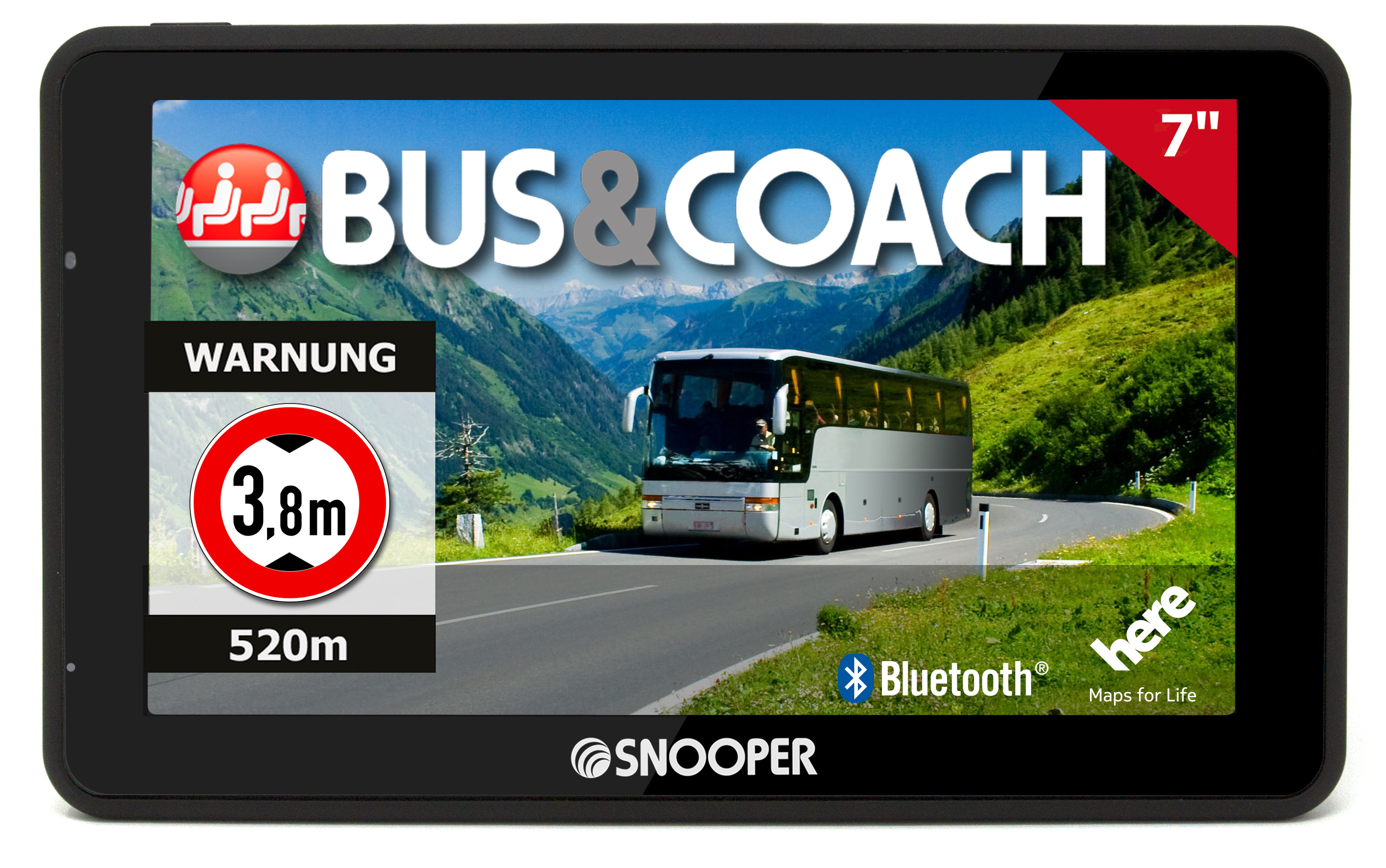 SNOOPER Bus&Coach PRO S6900 navigation system for buses and coaches