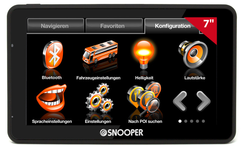 SNOOPER Bus&Coach S6900 Bus- Navigationssystem – Bild 2