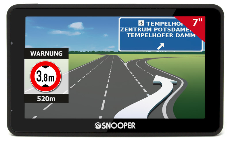SNOOPER Bus&Coach S6900 Bus- Navigationssystem – Bild 4