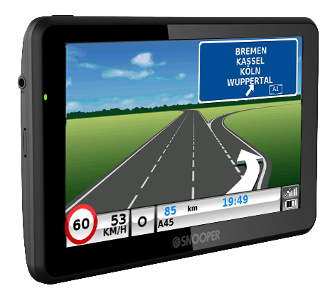 SNOOPER Bus&Coach S6900 Bus- Navigationssystem – Bild 9