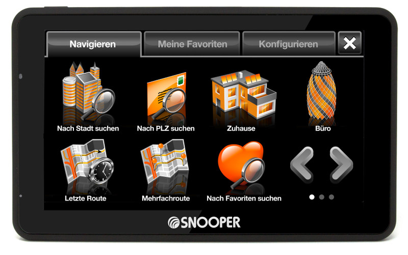 SNOOPER Bus&Coach S6900 Bus- Navigationssystem – Bild 11