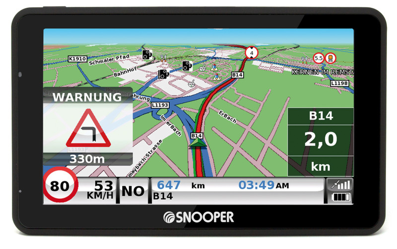 SNOOPER Bus&Coach PRO S6900 Bus- Navigationssystem – Bild 15