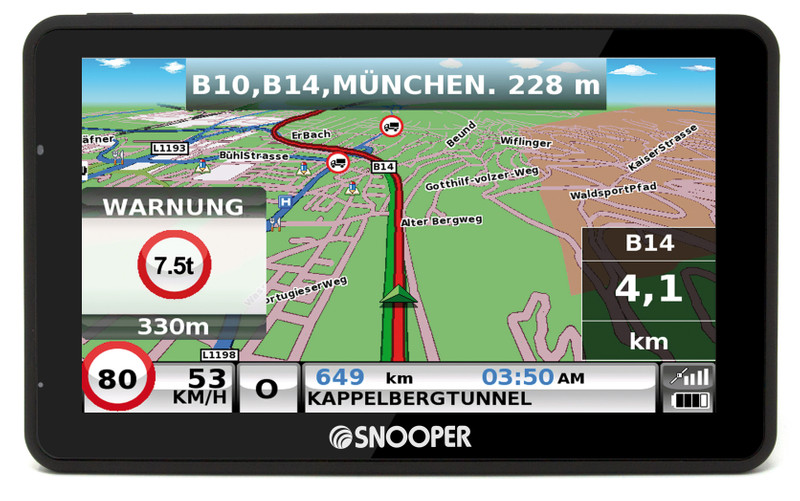 SNOOPER Bus&Coach S6900 Bus- Navigationssystem – Bild 13