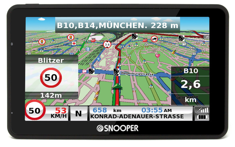 SNOOPER Bus&Coach S6900 Bus- Navigationssystem – Bild 16