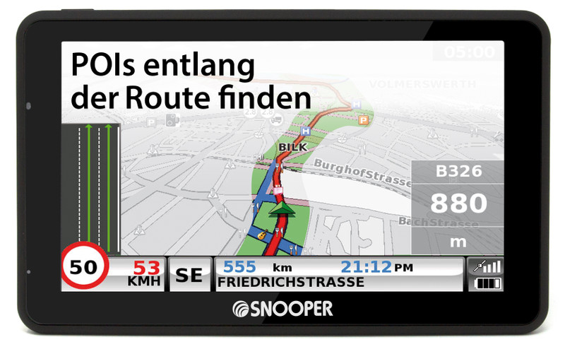 SNOOPER Bus&Coach PRO S6900 Bus- Navigationssystem – Bild 17