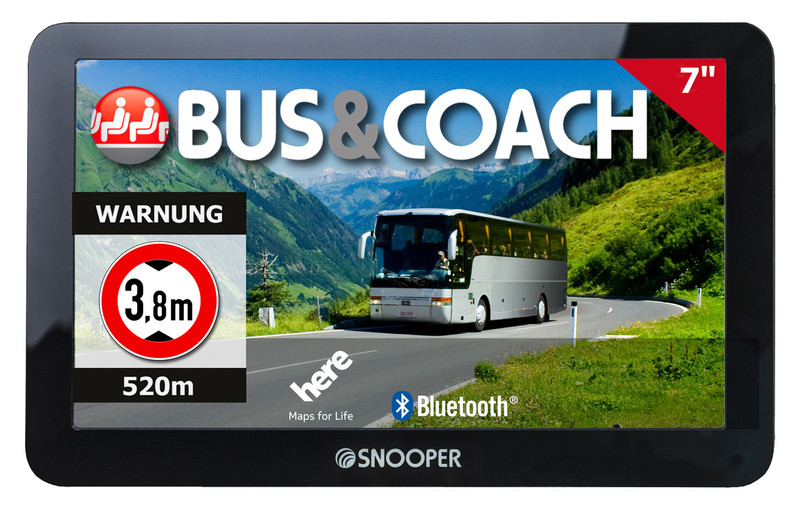 SNOOPER Bus&Coach PRO S8110 Bus- Navigationssystem