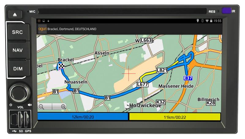 CARGUARD IntelliRoute CA9100 DAB Reisemobil- Navigationssystem – Bild 17