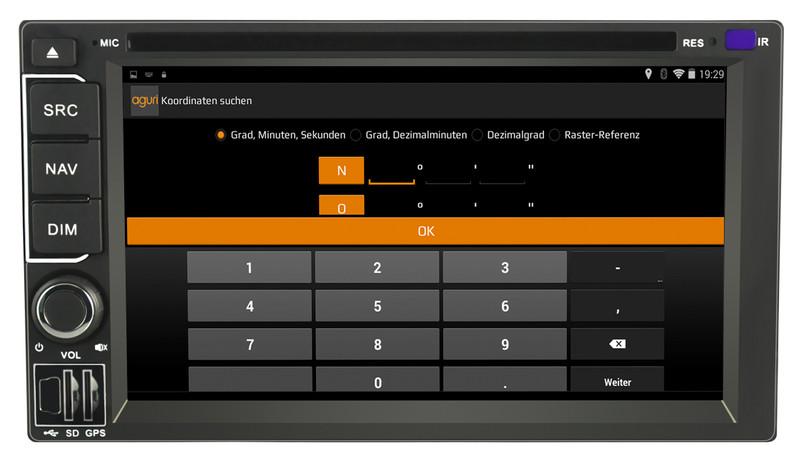 CARGUARD IntelliRoute CA9100 DAB Reisemobil-Navigationssystem – Bild 23