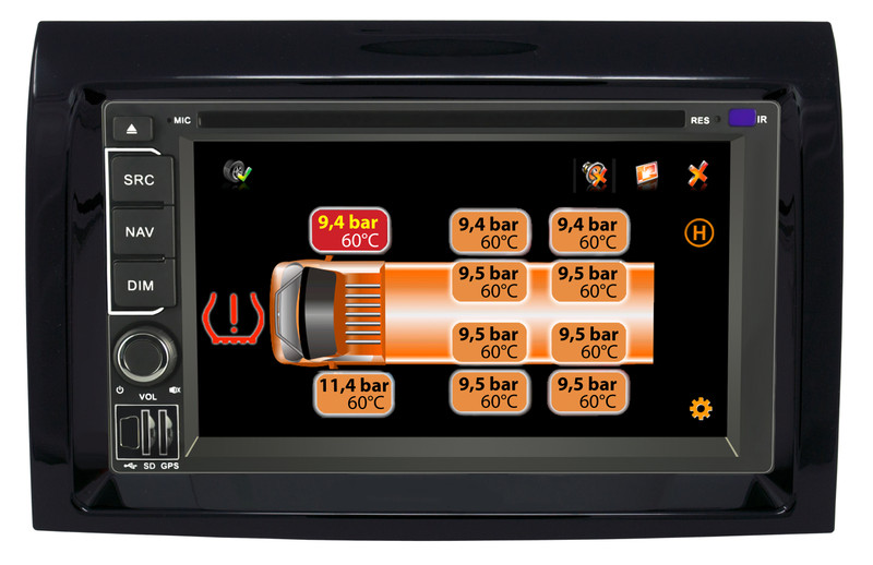 CARGUARD IntelliRoute CA9100 DABFD Reisemobil- Navigationssystem für Ducato, Jumper, Boxer ab 2006 – Bild 10