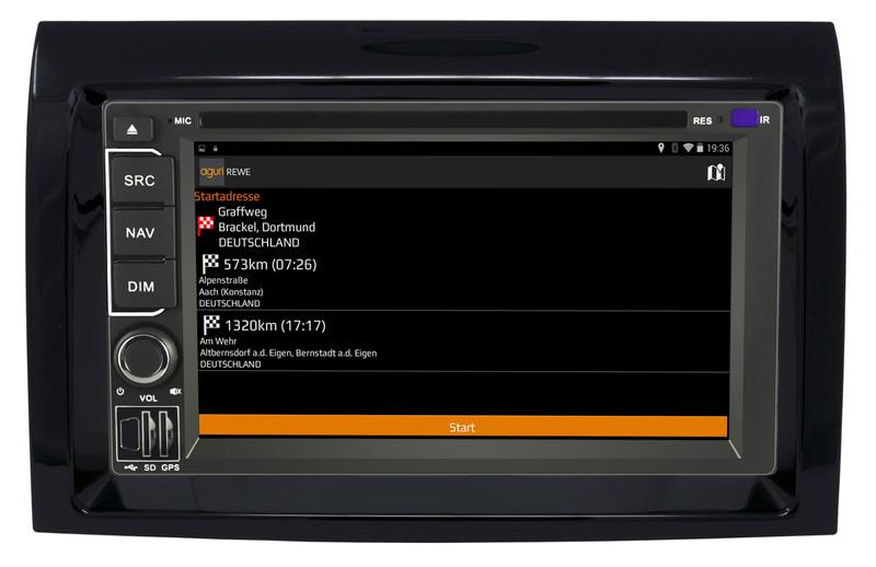 CARGUARD IntelliRoute CA9100 DABFD Reisemobil- Navigationssystem für Ducato, Jumper, Boxer ab 2006 – Bild 4