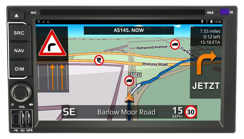 CARGUARD IntelliRoute TR9100 DAB LKW- Navigationssystem – Bild 2
