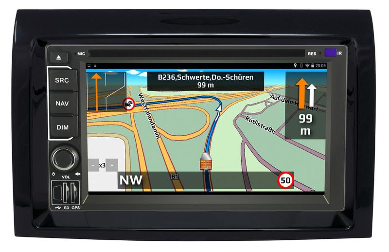 CARGUARD IntelliRoute TR9100 DABXF LKW- Navigationssystem für DAF XF – Bild 21