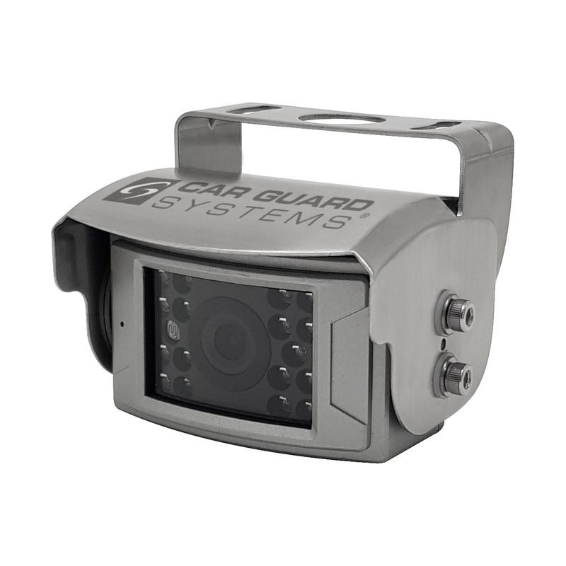 CARGUARD REAR ANGEL VIEW ™ RAV-F Rückfahrkamera, 700 TVL, 125°, silber, 9-32V, PAL – Bild 5