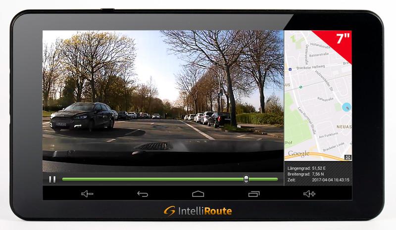 IntelliRoute-CA8020DVR-Navi-und-120°-Kamera-12V-oval-weiss – Bild 4