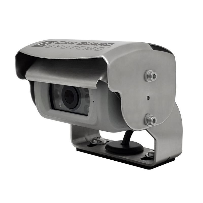 CARGUARD REAR ANGEL VIEW ™ RAV-M Mini-Shutter-Rückfahrkamera, Full-HD für AHD-Monitore, 130°, silber, 9-32V, PAL – Bild 4
