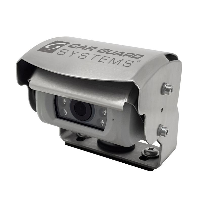 CARGUARD REAR ANGEL VIEW ™ RAV-M Mini-Shutter-Rückfahrkamera, Full-HD für AHD-Monitore, 130°, silber, 9-32V, PAL – Bild 9
