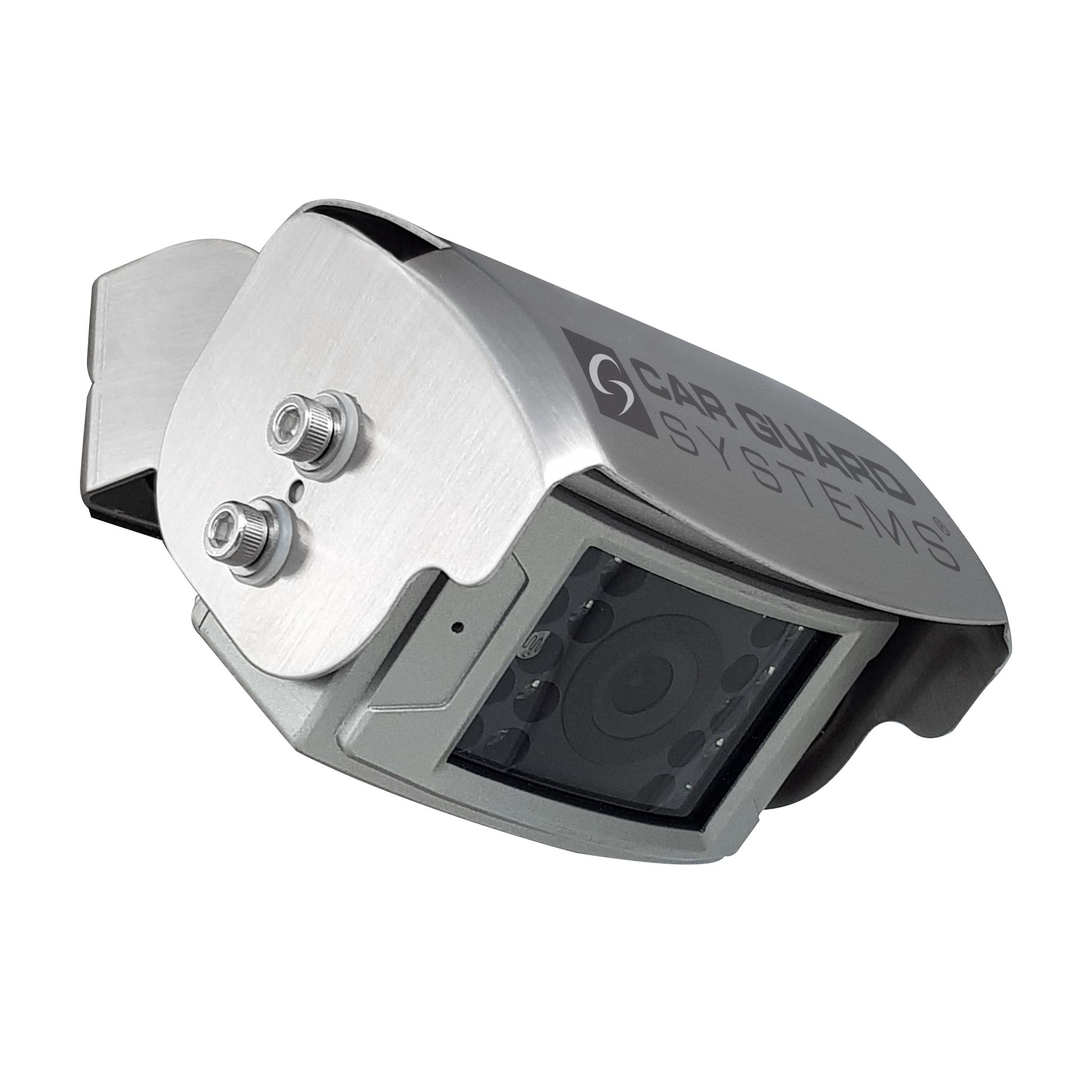RAV-F rear view camera, 700 TVL, 125°, silver, 9-14V, PAL