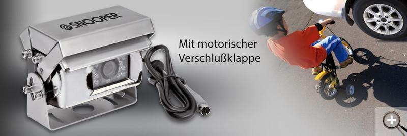 CARGUARD Rückfahrkamera mit motorischer Verschlußklappe 12V – Bild 5