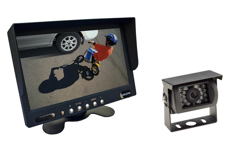 "SNOOPER 7"" Monitor + 120° Rückfahrkamera feststehend schwarz 12 bis 24V"
