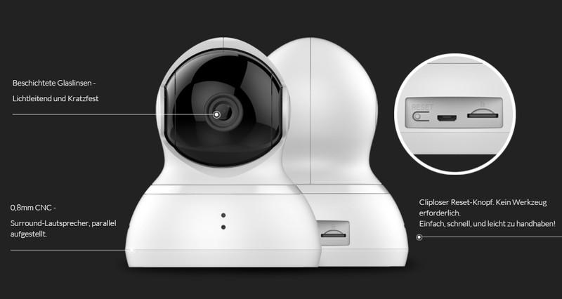 YI Dome Camera weiß – Bild 8