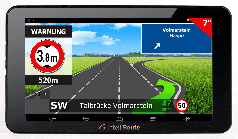 CAR GUARD IntelliRoute TR8050 DVR navigation system for trucks