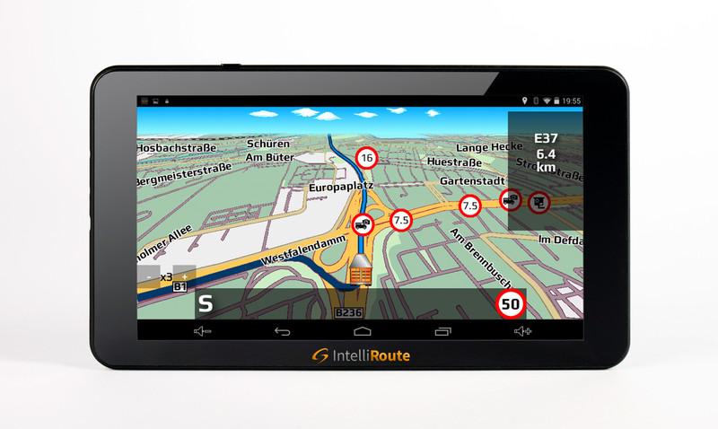IntelliRoute CA8020DVR Navi + Shutter-Doppel-Kamera 12V/24V für mobile Navigationssysteme mit Umschaltbox – Bild 6