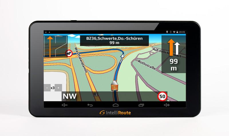 IntelliRoute CA8020DVR Navi + Shutter-Doppel-Kamera 12V/24V für mobile Navigationssysteme mit Umschaltbox – Bild 7