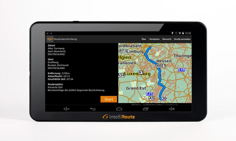 IntelliRoute CA8020DVR Navi + Shutter-Doppel-Kamera 12V/24V für mobile Navigationssysteme mit Umschaltbox – Bild 13