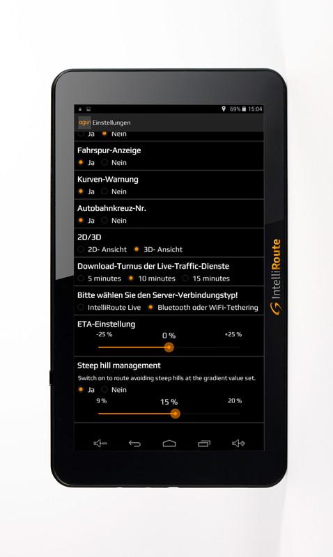 IntelliRoute CA8020DVR Navi + Shutter-Doppel-Kamera 12V/24V für mobile Navigationssysteme mit Umschaltbox – Bild 16