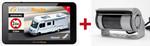 IntelliRoute CA8020DVR Navi + Shutter-Doppel-Kamera 12V/24V für mobile Navigationssysteme mit Umschaltbox 001