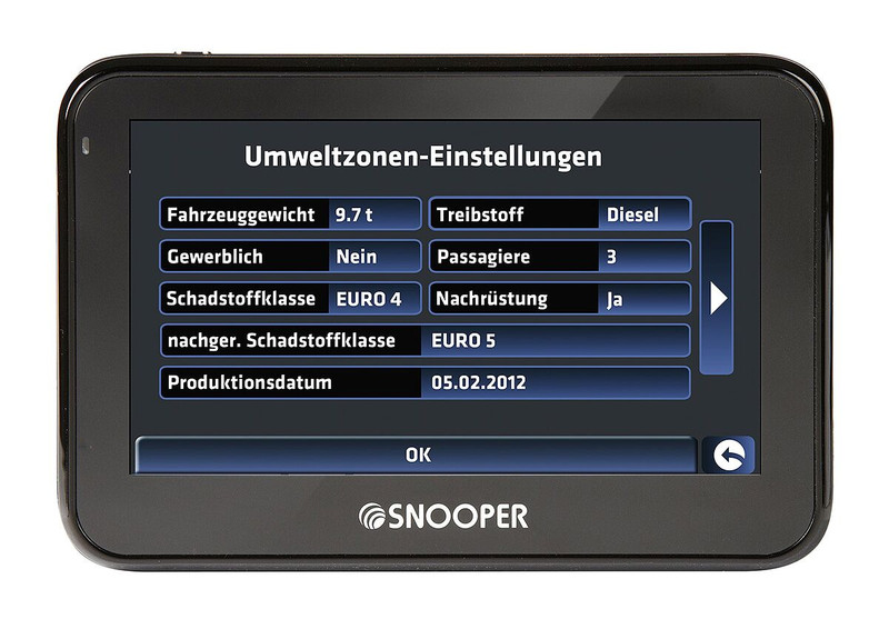 SNOOPER Bus&Coach PRO S2700 Bus- Navigationssystem – Bild 4
