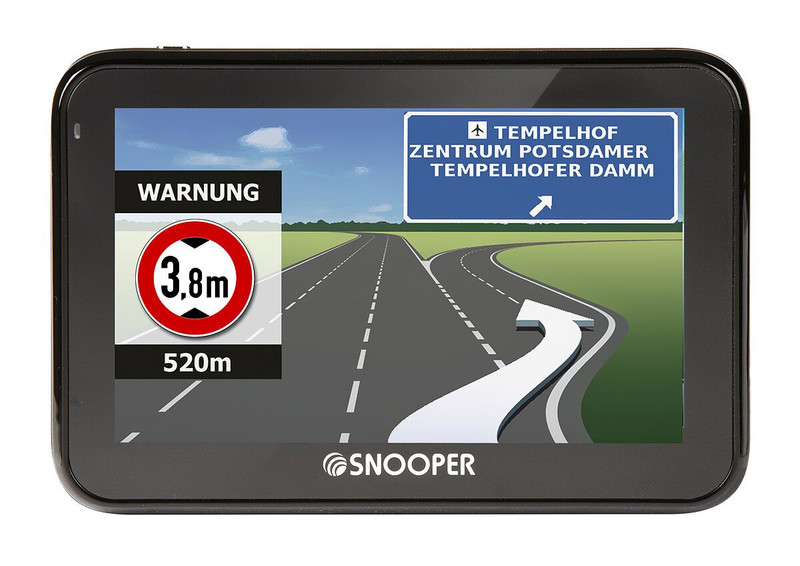 SNOOPER Bus&Coach PRO S2700 Bus- Navigationssystem – Bild 2