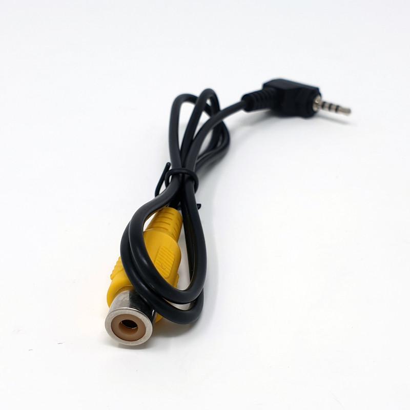 Rückfahr-Klinkenadapterkabel 4-polig 2,5mm/Cinch-Buchse