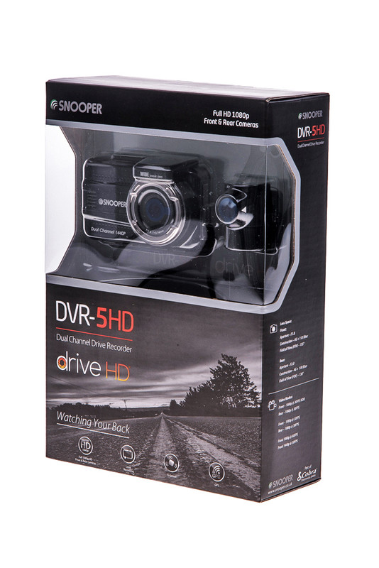 SNOOPER DVR-5HD Dashcam, Frontkamera, Heckkamera, 1080p – Bild 4