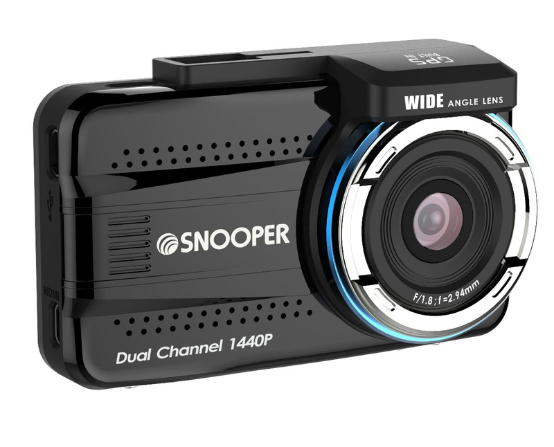 SNOOPER DVR-5HD Dashcam, Frontkamera, Heckkamera, 1080p – Bild 2