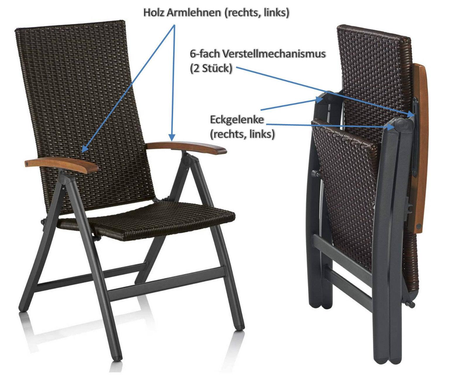 florabest klapp-sessel ersatzteile | klappstuhl armlehne polyrattan