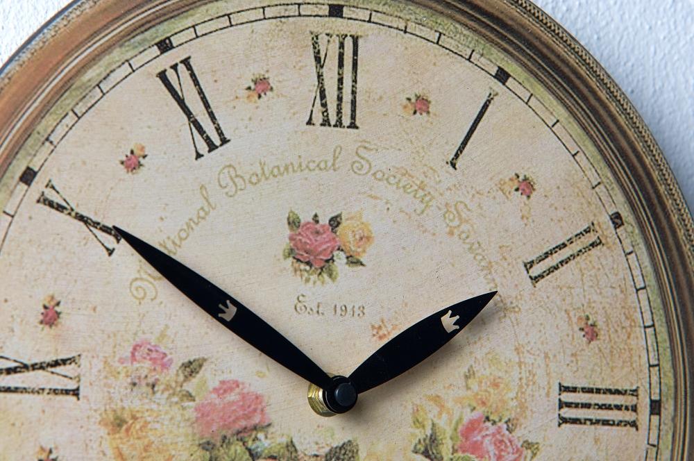 Wanduhr Rose Motiv Design Günstig Uhr Wohnzimmer U2013 Bild 2